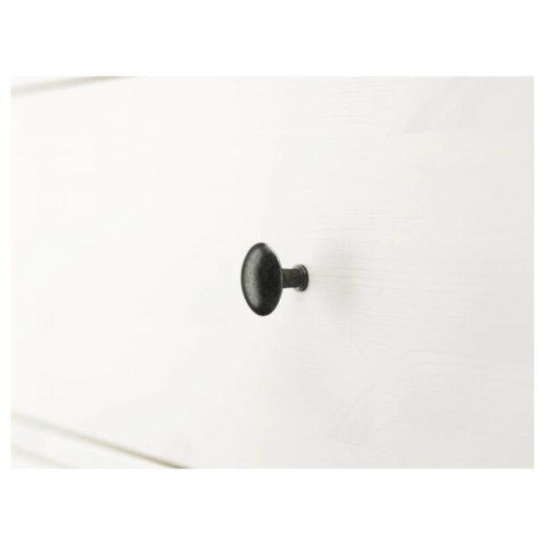 ХЕМНЭС Комод с 3 ящиками, белая морилка, 108x96 см - 404.269.06