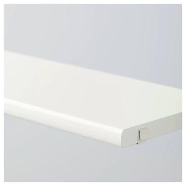 АЛЬГОТ Полка, белый, 60x18 см - 603.797.39