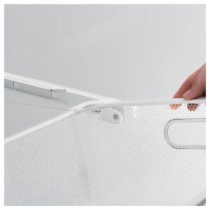 АЛЬГОТ Направляющие для корзин, белый - 904.018.71