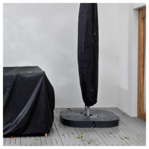 ТОСТЕРО Чехол на зонт от солнца, черный, 220 см - 403.762.61
