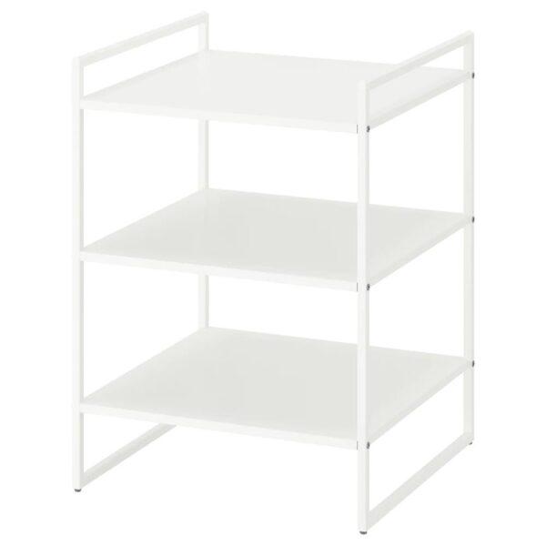 ЙОНАКСЕЛЬ Стеллаж, белый, 50x51x70 см - 404.313.14