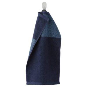 ХИМЛЕОН Полотенце, темно-синий, меланж, 30x50 см - 604.429.10