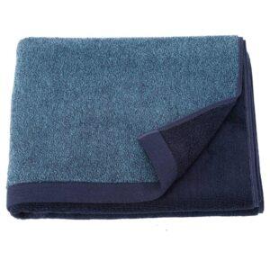 ХИМЛЕОН Банное полотенце, темно-синий, меланж, 70x140 см - 604.429.05