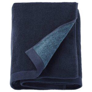 ХИМЛЕОН Простыня банная, темно-синий, меланж, 100x150 см - 204.429.07