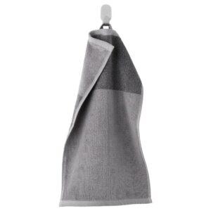 ХИМЛЕОН Полотенце, темно-серый, меланж, 30x50 см - 104.429.41