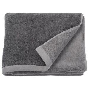 ХИМЛЕОН Банное полотенце, темно-серый, меланж, 70x140 см - 104.429.36