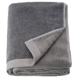ХИМЛЕОН Простыня банная, темно-серый, меланж, 100x150 см - 704.429.38