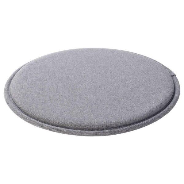 СУННЕА Подушка на стул, серый, 36x2.5 см - 704.165.76