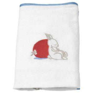 ВЭДРА Чехол на пеленальную подстилку, орнамент «кролики», белый, 48x74 см - 904.453.56