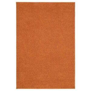 СПОРУП Ковер, короткий ворс, коричневый, 133x195 см - 004.534.40