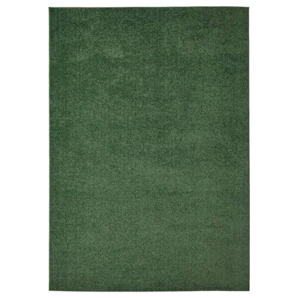 СПОРУП Ковер, короткий ворс, темно-зеленый, 170x240 см - 804.534.41