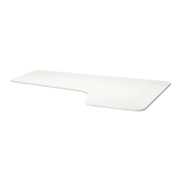 БЕКАНТ Столешница с вырезом, правая, белый, 160x110 см - 903.844.52