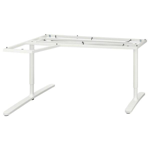 БЕКАНТ Подстолье для угловой столешницы, белый, 160x110 см - 603.844.63