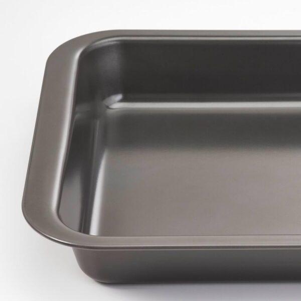 ХЕММАБАК Форма д/духовки, серый, 36x27 см - 604.566.81