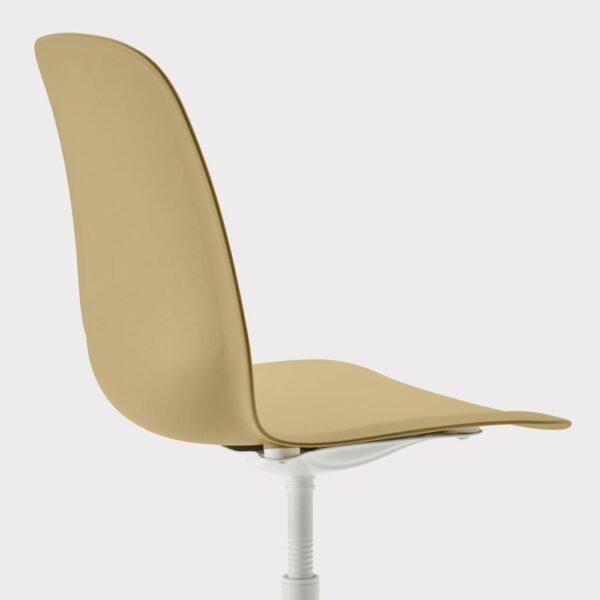 ЛЕЙФ-АРНЕ Рабочий стул, оливково-зеленый, Бальсбергет белый - 493.049.67