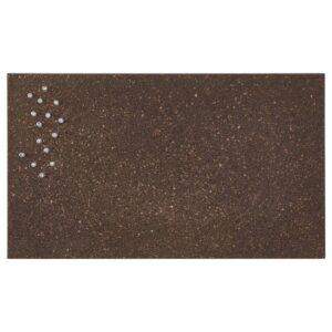 СВЕНСОС Доска для записей, с кнопками, пробка темно-коричневый, 35x60 см - 504.322.47