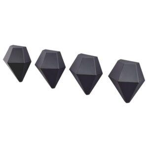 ТОТЭБО Магнит, черный, 4 шт - 704.596.84