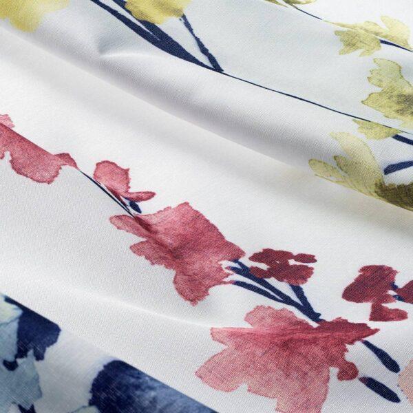 АСКАРИА Гардины, 1 пара, цветок разноцветный, 145x180 см - 604.745.00