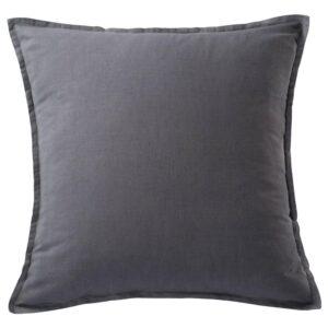 ВАРВЕРОНИКА Чехол на подушку, темно-серый, 65x65 см - 904.735.99