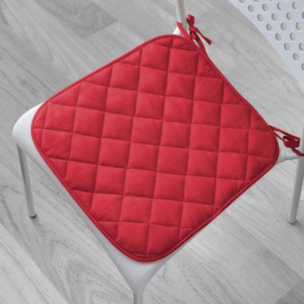 СИТА Подушка на стул, красный, 38/35x38x2 см - 904.690.74