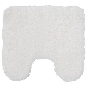 АЛЬМТЬЕРН Коврик в туалет, белый, 55x60 см - 604.653.98