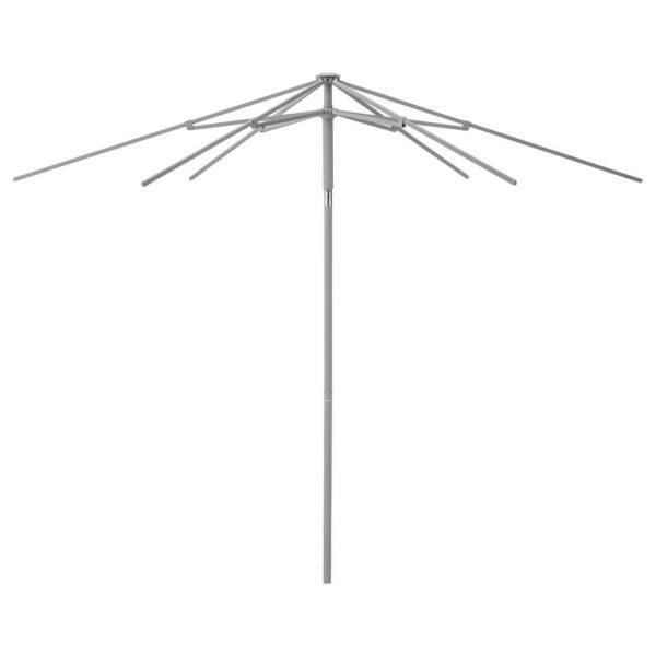 КУГГЁ Каркас зонта от солнца, наклонный, серый, 300 см - 403.961.17