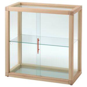 МАРКЕРАД Шкаф-витрина, сосна, 80x80 см - 304.515.24