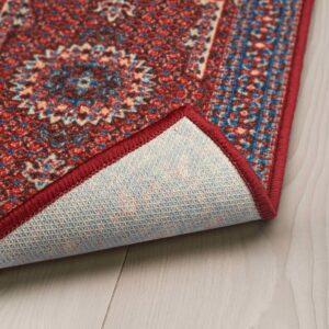 СКИВХОЛЬМЕ Придверный коврик, красный, синий, 40x60 см - 404.721.25