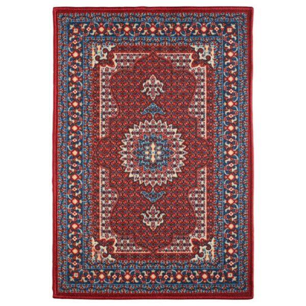 СКИВХОЛЬМЕ Придверный коврик, красный, синий, 60x90 см - 204.721.26