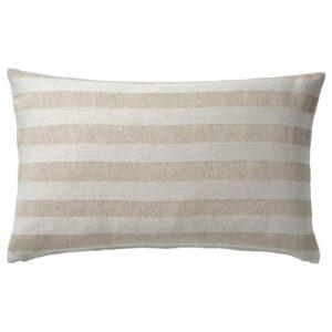 ХЕДДАМАРИА Чехол на подушку, неокрашенный, в полоску, 40x65 см - 904.559.15