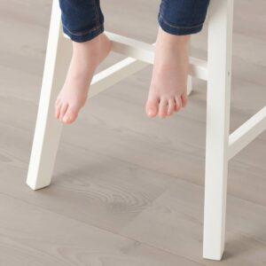 ИНГОЛЬФ Детский стул, белый - 704.624.03