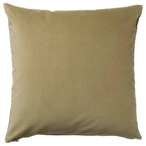 САНЕЛА Чехол на подушку, светлый оливково-зеленый, 65x65 см - 904.565.33