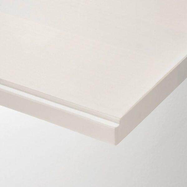 ТРАНГУЛЬТ Полка, осина/белая морилка, 120x30 см - 004.549.01