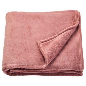 ТРАТТВИВА Покрывало, темно-розовый, 150x250 см - 204.421.82