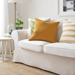 ВИГДИС Чехол на подушку, темный золотисто-коричневый, 50x50 см - 804.565.43