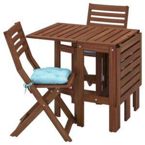 ЭПЛАРО Стол+2 складных стула,д/сада - 093.284.18