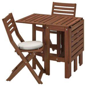 ЭПЛАРО Стол+2 складных стула,д/сада - 893.283.39