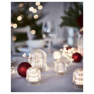 АКТИВЕРЭД Декоративная подсветка, светодиоды, с батарейным питанием, прозрачный, 5 см - 404.524.67
