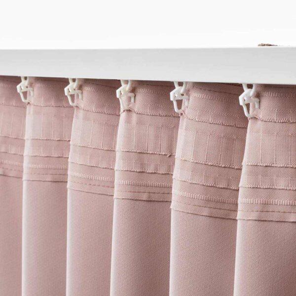 АННАКАЙСА Затемняющие гардины, 1 пара, розовый, 145x300 см - 404.629.99