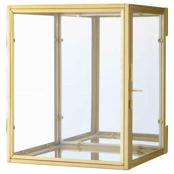 БУМАРКЕН Рама для трехмерной картины, золотой, 17x20x16 см - 104.543.59