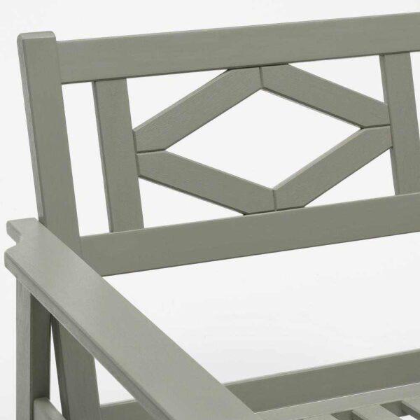 БОНДХОЛЬМЕН Садовое кресло, серый морилка - 904.206.62