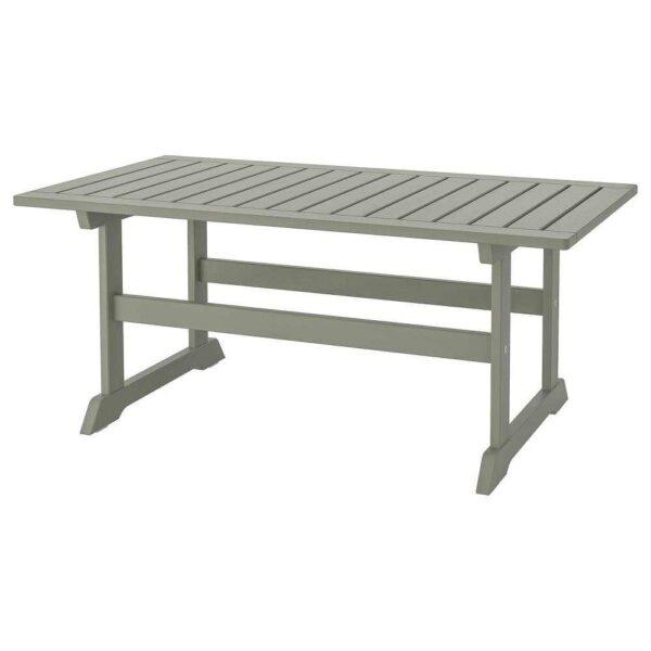 БОНДХОЛЬМЕН Садовый столик, серый морилка, 111x60 см - 104.206.75