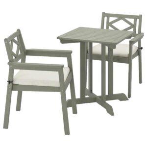 БОНДХОЛЬМЕН Садовый стол и 2 легких кресла - 393.294.83