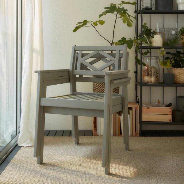 БОНДХОЛЬМЕН Садовый стол и 2 легких кресла - 093.295.02