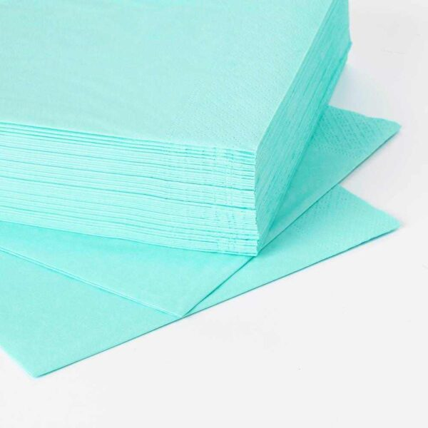 ФАНТАСТИСК Салфетка бумажная, светлая бирюза, 40x40 см - 604.449.28