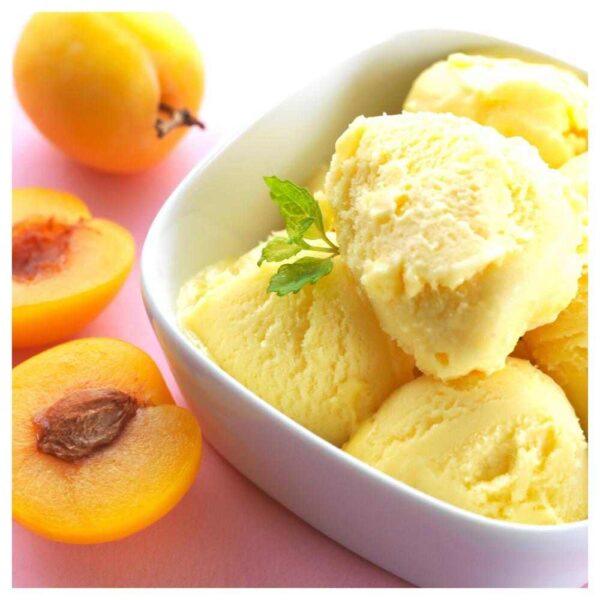 ФОРТГО Ароматическая свеча в стакане, Абрикос и мороженое, светло-розовый оранжевый, 9 см - 704.586.94