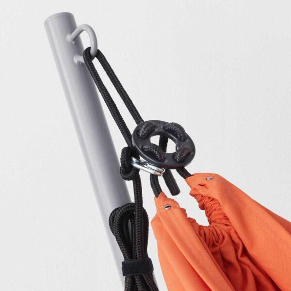 ГОРЭ / РИСЁ Гамак с опр, серый, бледно-оранжевый - 392.493.92