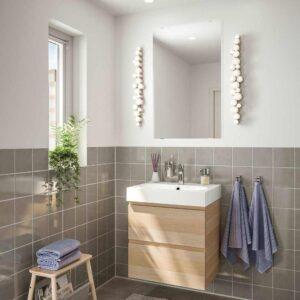 ГОДМОРГОН / БРОВИКЕН Комплект мебели для ванной,4 предм. - 093.324.44