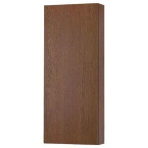 ГОДМОРГОН Навесной шкаф с 1 дверцей, под коричневый мореный ясень, 40x14x96 см - 204.579.32