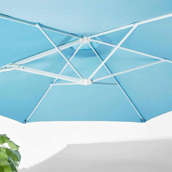 ХЁГЁН Зонт от солнца с опорой, голубой, Сварто темно-серый, 270 см - 893.208.66